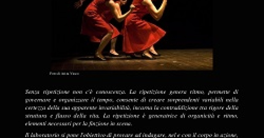 Un Workshop di Metamorfosi Teatro a Nazzano