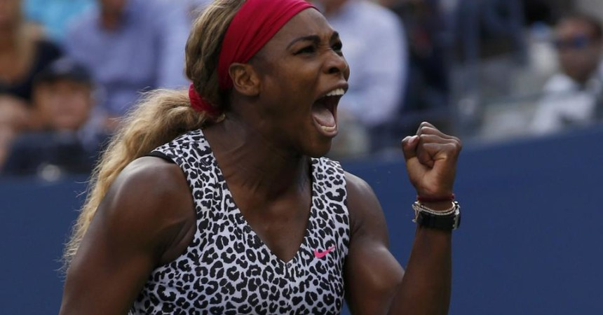 Serena Williams gioca per la storia