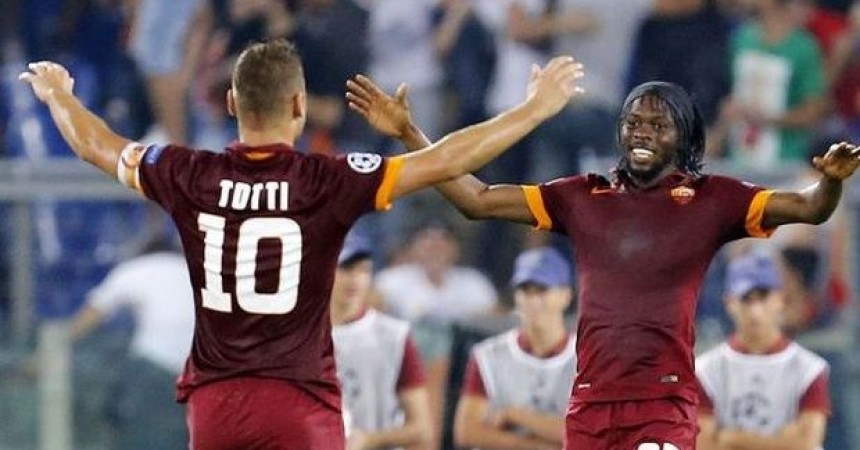 Roma show in Champions