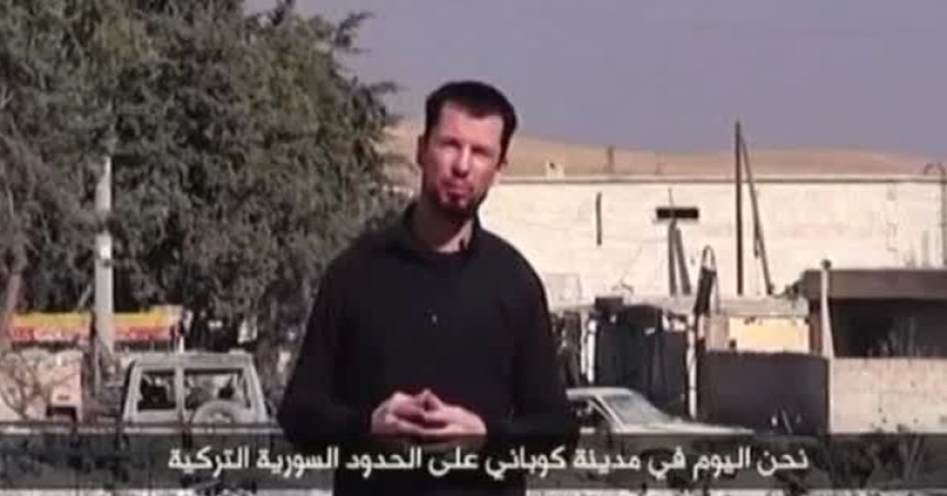John Cantlie, inviato speciale Isis