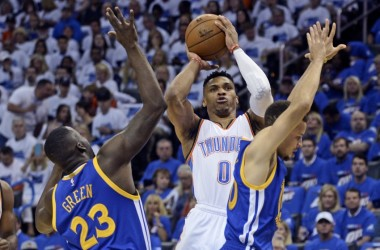 Westbrook spinge fuori Golden State