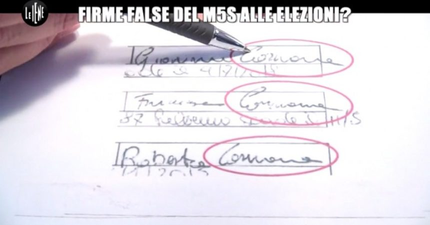 Firme false a Cinque Stelle: perquisito il marito dell'on. Lupo