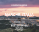 Best in travel 2020, premiate le Marche